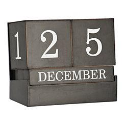 Black and White Desk Calendar