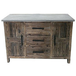 Jayden Farmhouse 3-Drawer Cabinet
