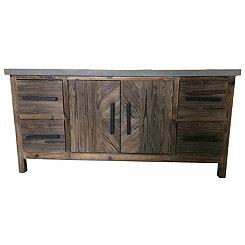 Jayden Farmhouse 4-Drawer Cabinet