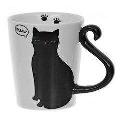 Meow Cat Tail Mug