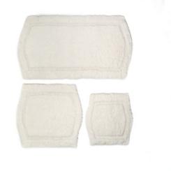 Ivory Paradise 3-pc. Memory Foam Bath Mat Set