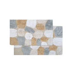 Spa Pebbles 2-pc. Bath Mat Set