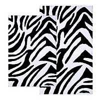 Zebra 2-pc. Bath Mat Set