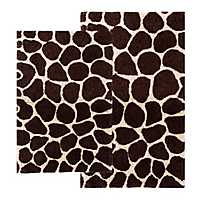 Giraffe 2-pc. Bath Mat Set