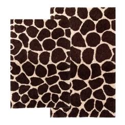 Giraffe 2-pc. Bath Mat Set