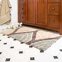 Soft, stylish rugs for your bathroom