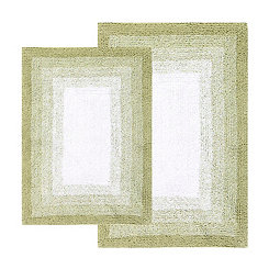 Nile Green Whitney Ombre 2-pc. Bath Mat Set