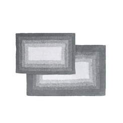 High Rise Gray Whitney Ombre 2-pc. Bath Mat Set
