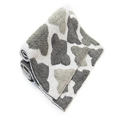 Gray Alloy Moroccan Tiles 2-pc. Bath Mat Set
