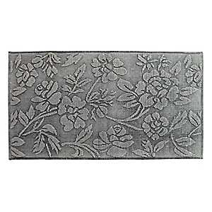 Limestone Floral Stonewashed Accent Rug
