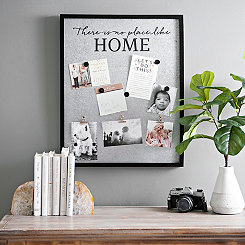 No Place Like Home Clip and Magnet Collage Frame