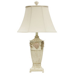 Seaside Cream Table Lamp