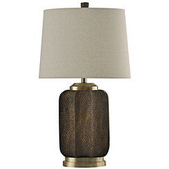 Dimpled Strausburg Table Lamp