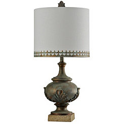 Antique Bronze Finish Table Lamp