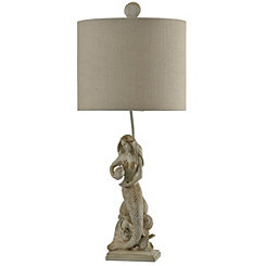 Mermaid Statue Table Lamp