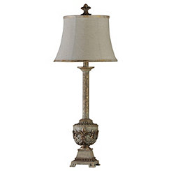 Fleur-de-Lis Urn Buffet Lamp