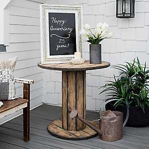 Lana Rustic Spool Table