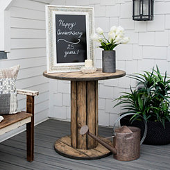 Lana Rustic Spool Table