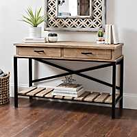 Emmie Industrial Console Desk