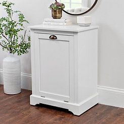 Trash Bin Accent Table