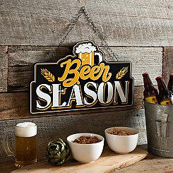 Beer Season Hanging Wall Plaque
