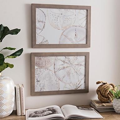 framed pictures living room. Sea Patterns Framed Art Prints  Set of 2 Wall Kirklands