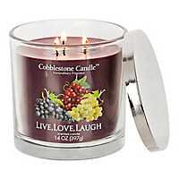 Live Love Laugh Jar Candle