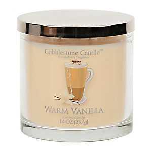 Warm Vanilla Jar Candle