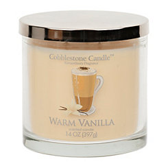 Warm Vanilla Jar Candle