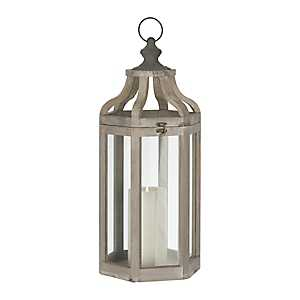 Ryan Gray Wooden Lantern