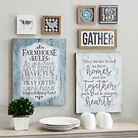 Blue Farmhouse 7-pc. Nesting Art Set