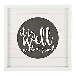 It is Well with My Soul Shadowbox