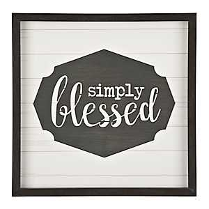 Simply Blessed Shadowbox