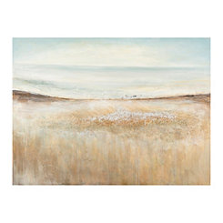 Gold Quicksand Canvas Art Print