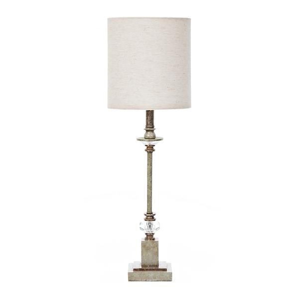 Blue Mist Crystal Buffet Lamp