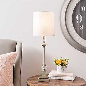 Santo Cristo Crystal Buffet Lamp