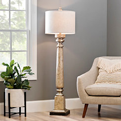 Exeter Laney Champagne Floor Lamp