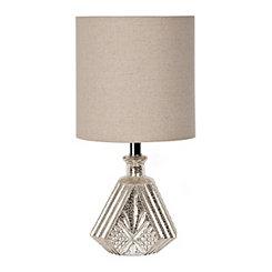 Diamond Ridge Mercury Glass Table Lamp