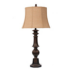 Caden Woodhaven Bronze Table Lamp
