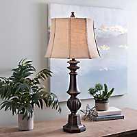 Caden Woodhaven Bronze Table Lamp