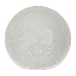 White Mosaic Sphere Table Lamp