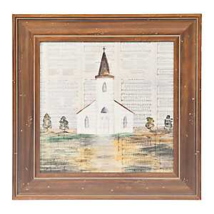 Chapel Hymns Framed Art Print