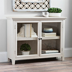 Bryn Natural Window Cabinet