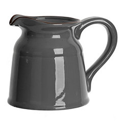 Gray Turino Ceramic Pitcher
