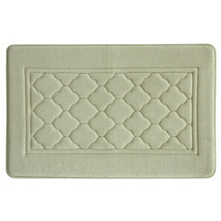 Linen Antimicrobial Memory Foam Bath Mat