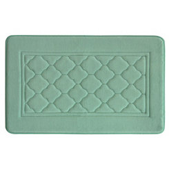 Aqua Antimicrobial Memory Foam Bath Mat