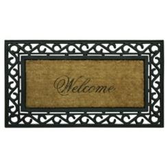 Welcome Framed Koko Doormat