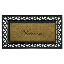 Welcome Framed Koko Doormat