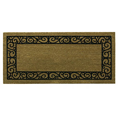 French Quarters Flocked Border Koko Doormat