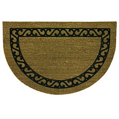 Iron Gate Half Moon Flocked Koko Doormat